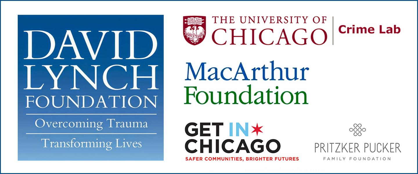 Le Laboratoire de Crimonologie de l'Université de Chicago soutient La Fondation David Lynch