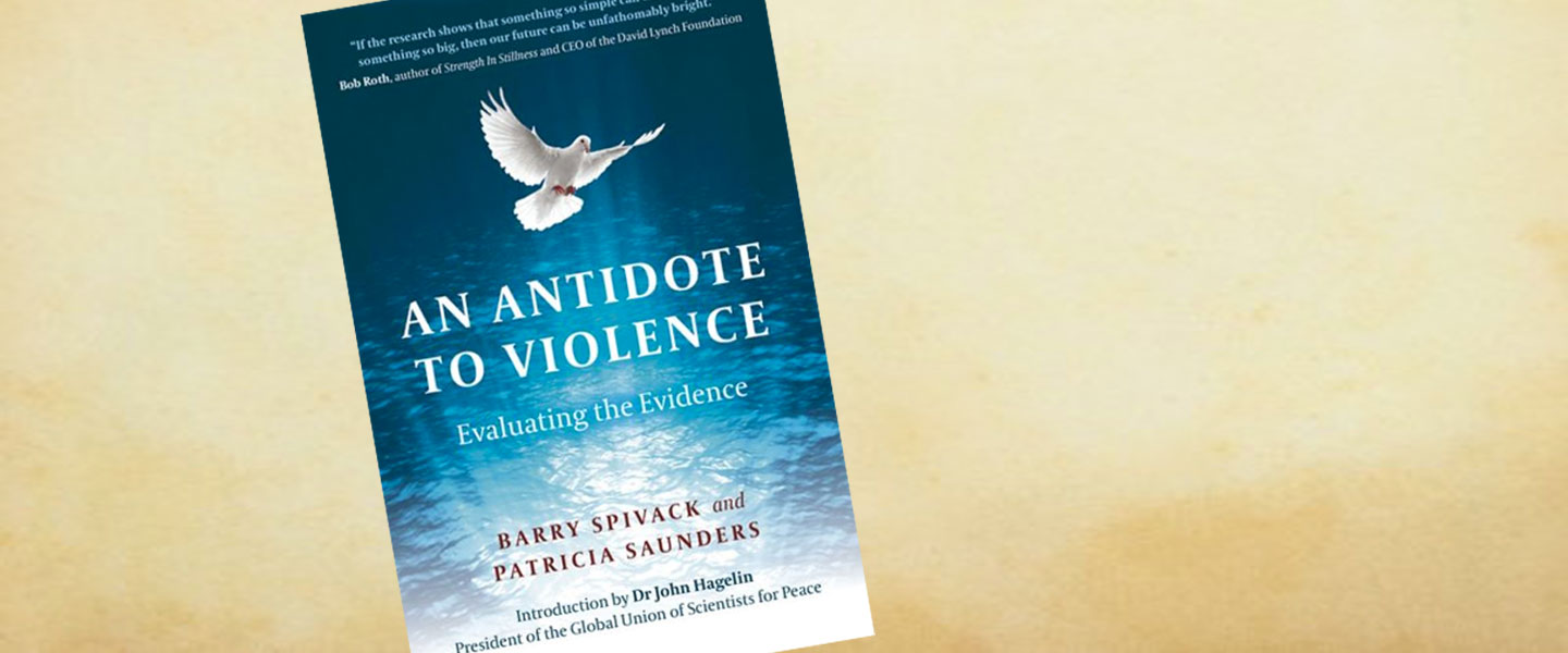 "Livre ""An Antidote to Violence: Evaluating The Evidence"""