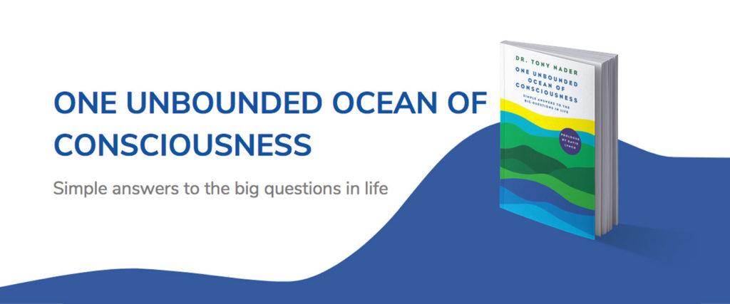 "Livre ""Un océan illimité de conscience"" - Dr Tony Nader"