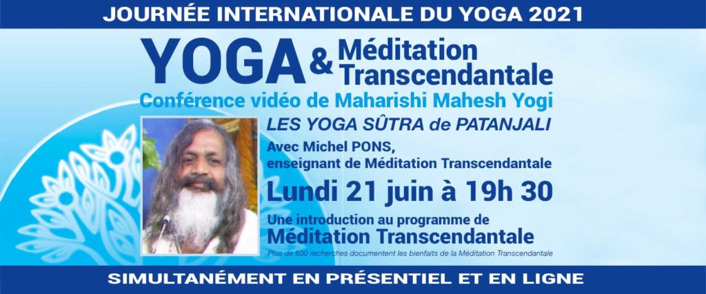 Yoga et Méditation Transcendantale - Journée mondiale du Yoga